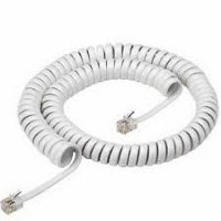 white telephone coil cord replacement